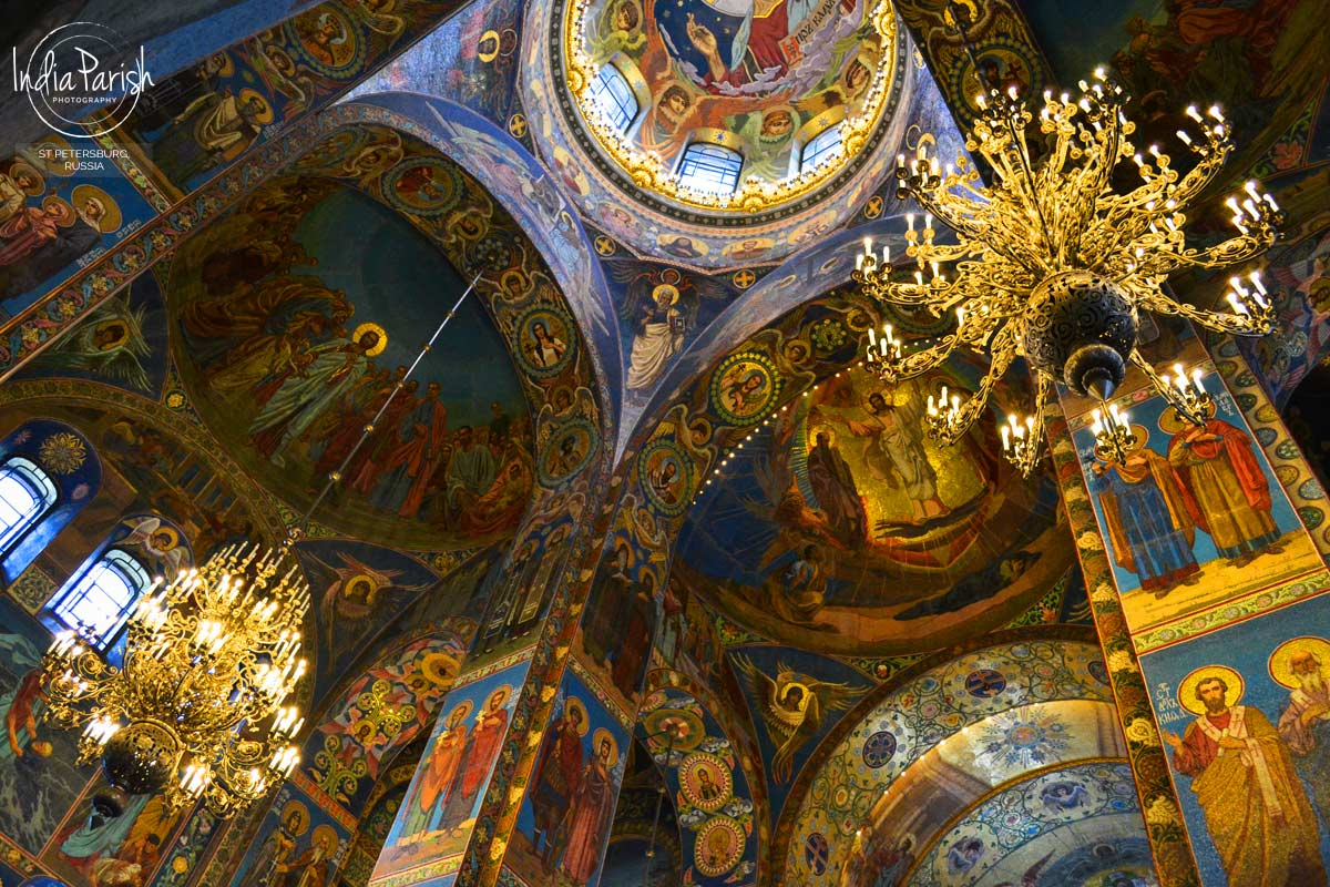 CHURCH OF SPILLED BLOOD, ST PETERSBURG, RUSSIA