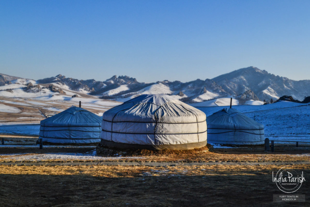 STAYING IN YURT TENTS IN MONGOLIA